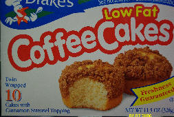 drakes cakes low fat Coffee Cakes hmm hmm good