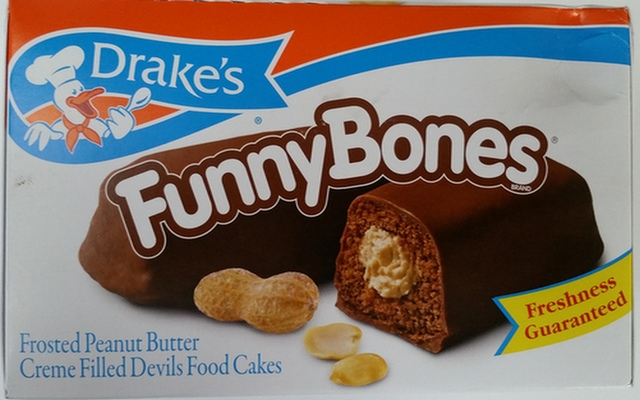 Drakes Cakes Funny Bones